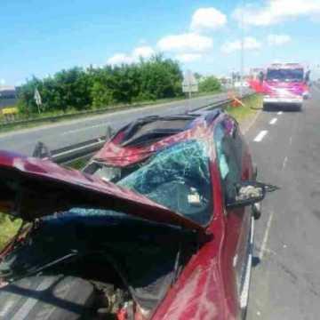 Na DK1 zderzyły się cztery samochody