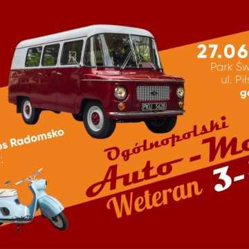 Ogólnopolski zlot Auto Moto Weteran już 27 czerwca w Radomsku
