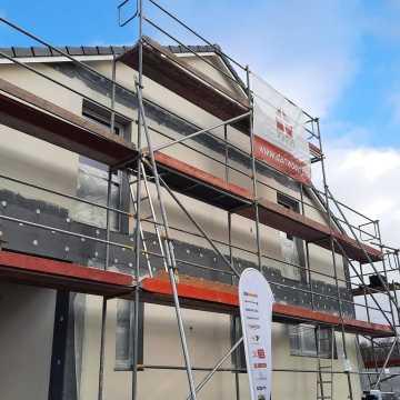 Konstrukcja domu dla wielodzietnej rodziny z Wierzbicy już gotowa