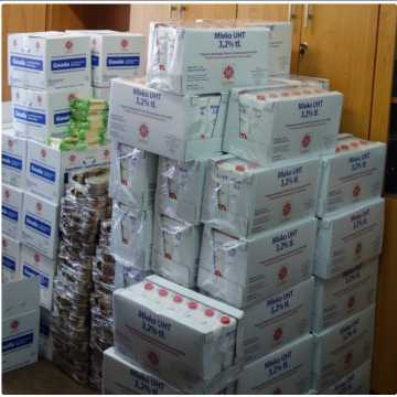 Wielgomłyny: osoby potrzebujące otrzymają paczki żywnościowe