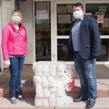 Kolejny przedsiębiorca wspiera powiat w walce z koronawirusem