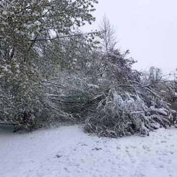 Zima powróciła. Miasto bez prądu i wody