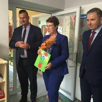 Poseł Anna Milczanowska z wizytą w gminie Gomunice