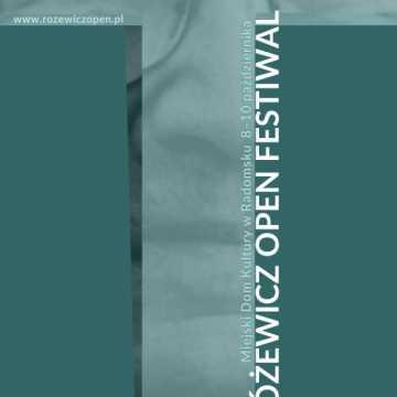 Różewicz Open Festiwal 2021. Co w programie?