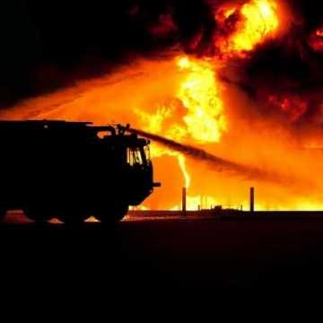 Wzrost liczby pożarów w powiecie radomszczańskim
