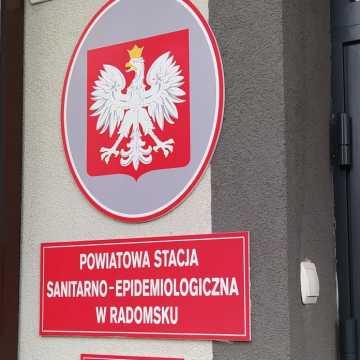 Sanepid Radomsko: 44 nowe przypadki koronawirusa, 45 ozdrowieńców. Trzy osoby zmarły