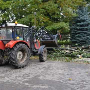 Trwa sprzątenie po Ksawerym w Radomsku