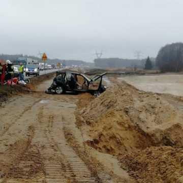 Śmiertelny wypadek na DK1. Zginął 74-latek