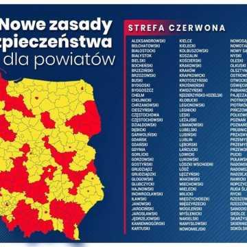 """Powiat radomszczański w """"czerwonej strefie"""". Od soboty"""