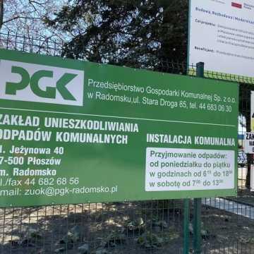 Spółka PGK w Radomsku nie przystąpiła do przetargu, bo... miała problem z elektronicznym podpisem