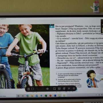 Nowe monitory interaktywne w szkołach w gminie Kamieńsk