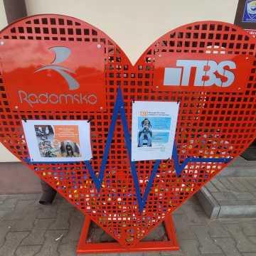 Czerwone serce TBS