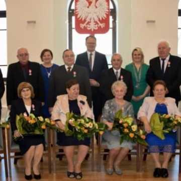 Wręczyli medale za Długoletnie Pożycie Małżeńskie