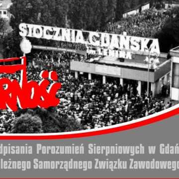 """Rocznica powstania """"Solidarności"""". Obchody w Radomsku"""