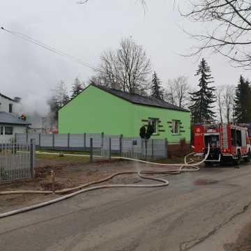 Pracowity weekend strażaków: gasili garaż, kotłownię i wannę