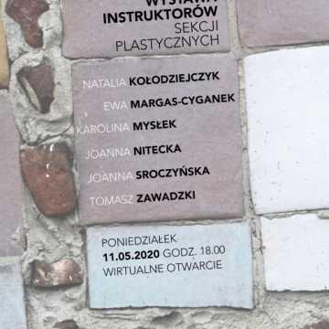 W MDK Radomsko wystawa na razie tylko wirtualna