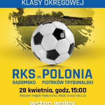 Zawodnicy RKS Radomsko proszą o doping