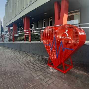 Serca na plastikowe nakrętki już zamontowane