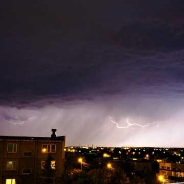 Ostrzeżenie meteorologiczne: burze w powiecie radomszczańskim