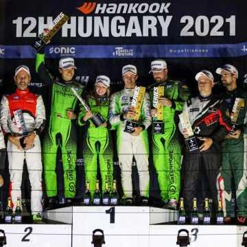 Trzecie miejsce Łukasza Stolarczyka w debiucie w wyścigach długodystansowych 24H Series