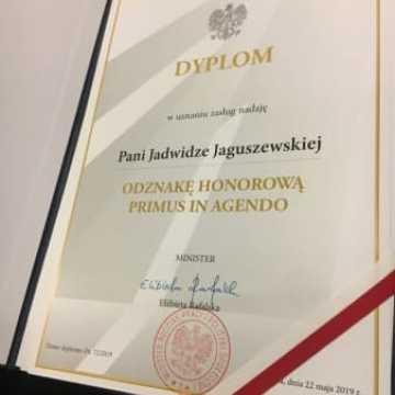 Pracownicy PUP w Radomsku przyznano odznakę Primus in Agendo