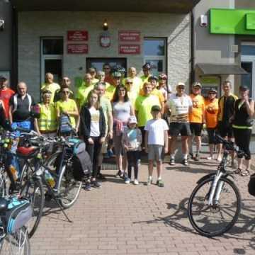 Rajd rowerowy w gminie Ładzice