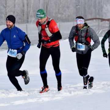 3. Trail Kamieńsk w prawdziwie zimowych warunkach