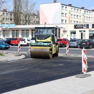 Piotrków Tryb.: dobiega końca remont ul. Szklarskiej