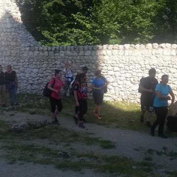 Trekking z MOSiR Radomsko. Tym razem na Jurze