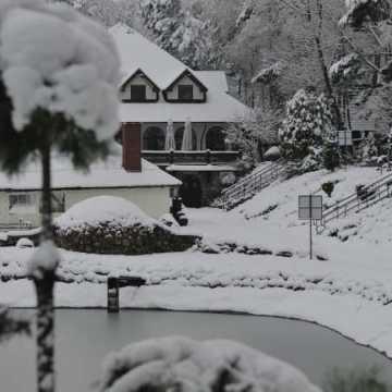 Zimowe miejsce w powiecie