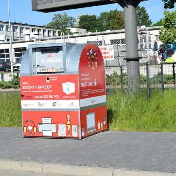 W Radomsku są już kosze na elektrośmieci