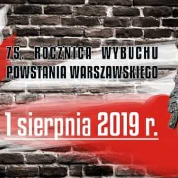 Miejskie obchody rocznicy wybuchu Powstania Warszawskiego