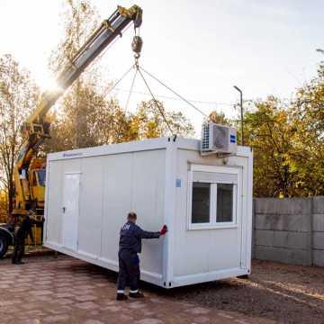 W Bełchatowie staną kontenery dla osób bezdomnych