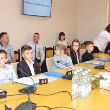 Pierwsza Dziecięca Sesja Rady Gminy w Ładzicach