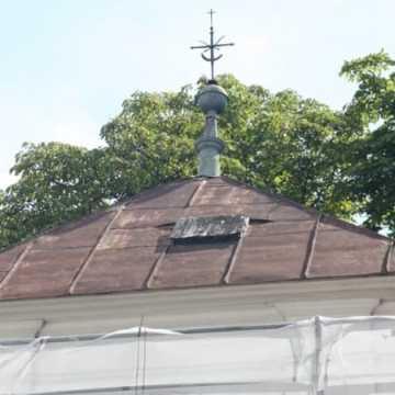 Remont klasztornej dzwonnicy