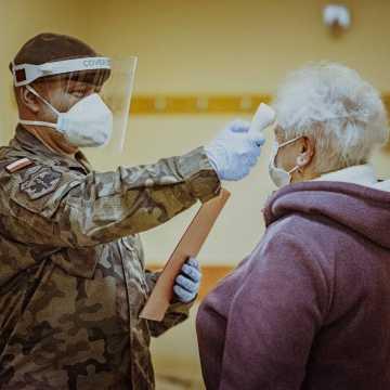 Terytorialsi w szpitalach w Łódzkiem