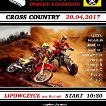 Motocyklowe Cross Country w Lipowczycach