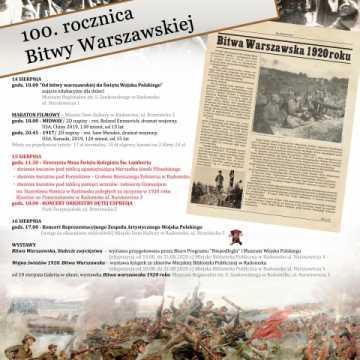 Święto Wojska Polskiego: program obchodów w Radomsku