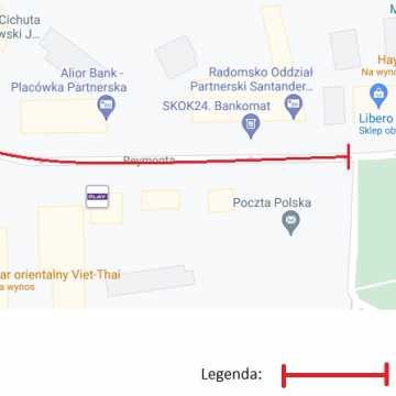 Centrum Radomska zostanie czasowo wyłączone z ruchu kołowego