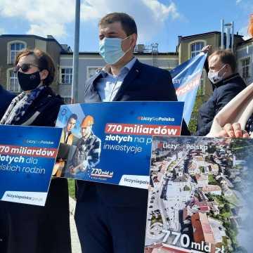 Poseł Anna Milczanowska z akcją #LiczySięPolska w Radomsku