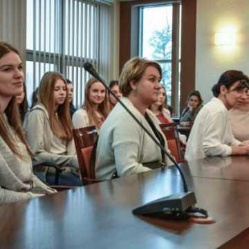 Ukraińska młodzież w Radomsku