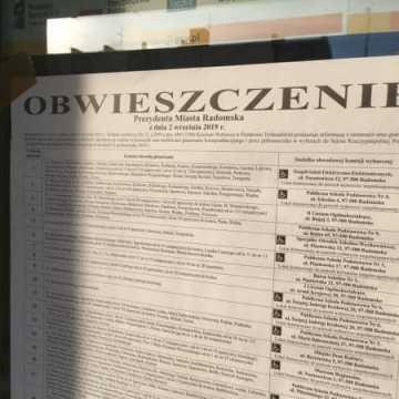 Frekwencja w Radomsku do godz. 17.00 wyniosła 46.29%