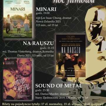 Oscarowa Noc Filmowa w MDK w Radomsku