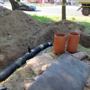 Trwa rozbudowa ciepłociągu przy ul. Jagiellońskiej w Radomsku
