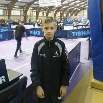 Sebastian Musiał z UMLKS Radomsko stratował na II Grand Prix Polski w tenisie stołowym