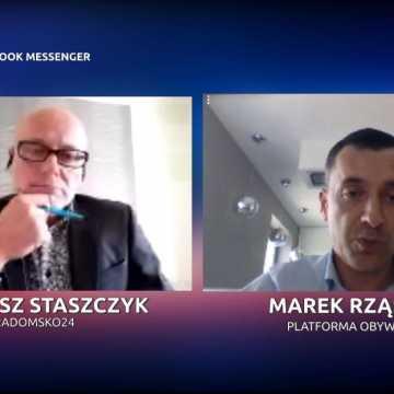 Staszczyk niezależnie. M. Rząsowski: liderem opozycji jest dziś Rafał Trzaskowski