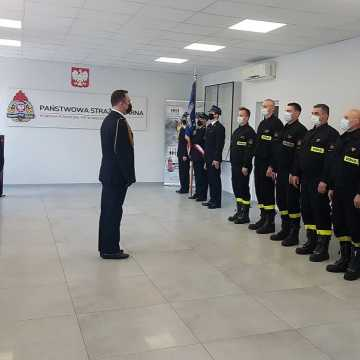 Nowy strażak w KP PSP w Radomsku