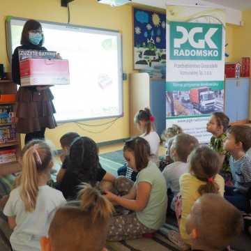 Działania PGK w przedszkolach i szkołach