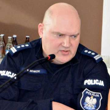 Inspektor Piotr Nowicki zakończył służbę jako Komendant Policji w Radomsku