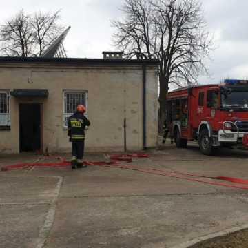 Strażacy ćwiczyli akcję ratowniczą w DPS w Radziechowicach Drugich